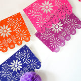 Mexican Fiesta Papel Picado SVG Garland