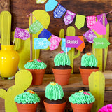 Mexican Fiesta Cupcake Bar