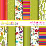 Fiesta Digital paper Set