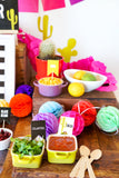 Fiesta Taco Bar Decorations | Tex Mex | Cinco de Mayo