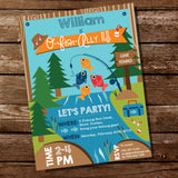 fishing party invitation