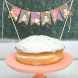 Flower Fairy Mini Cake Bunting | Woodland Fairy