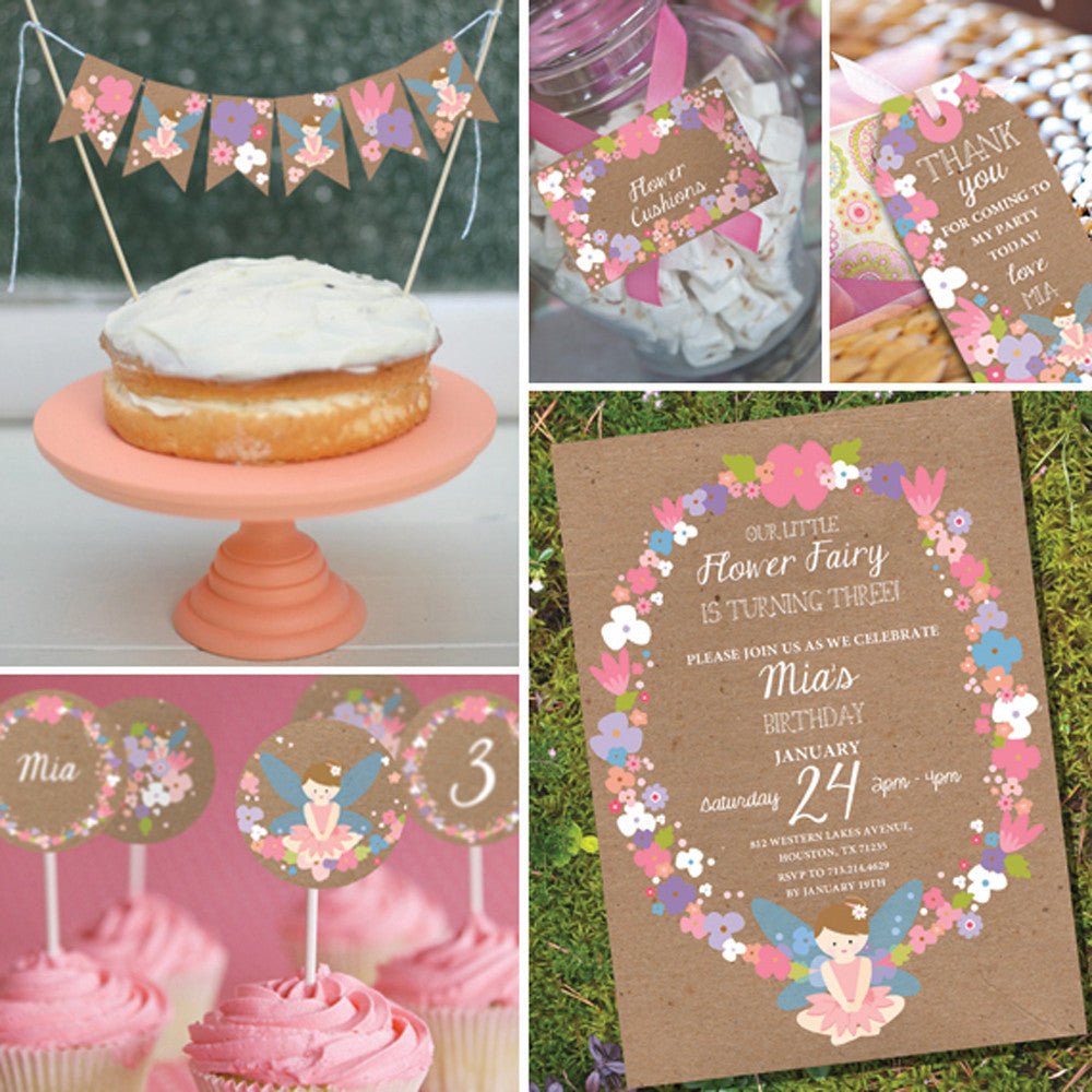 Flower Fairy Party Decorations