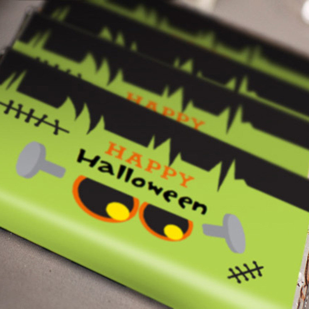 Frankenstein Halloween Party Candy Wrappers | Halloween Candy Bars