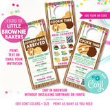 Girl Scout Cookie Seller Printable Door Hanger with QR Code