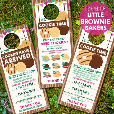 Girl Scout Cookie Seller Printable Door Hanger