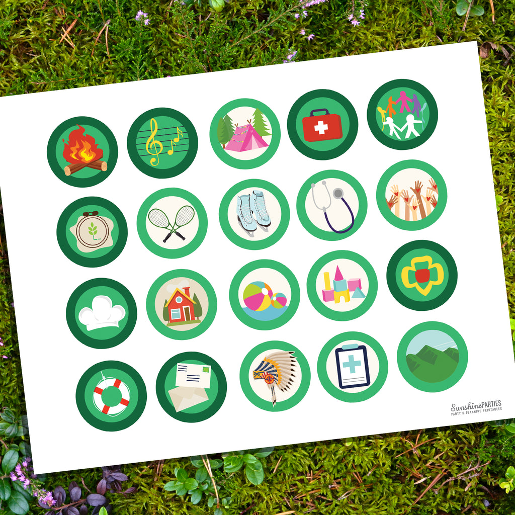 Girl Scout Merit Badges | Girl Scouts and Brownie Meetings
