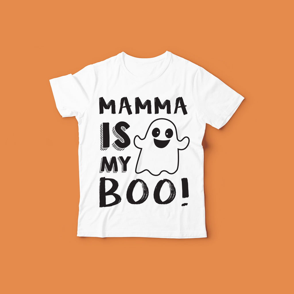 Kids Halloween Shirt Design | Mamma Is My Boo