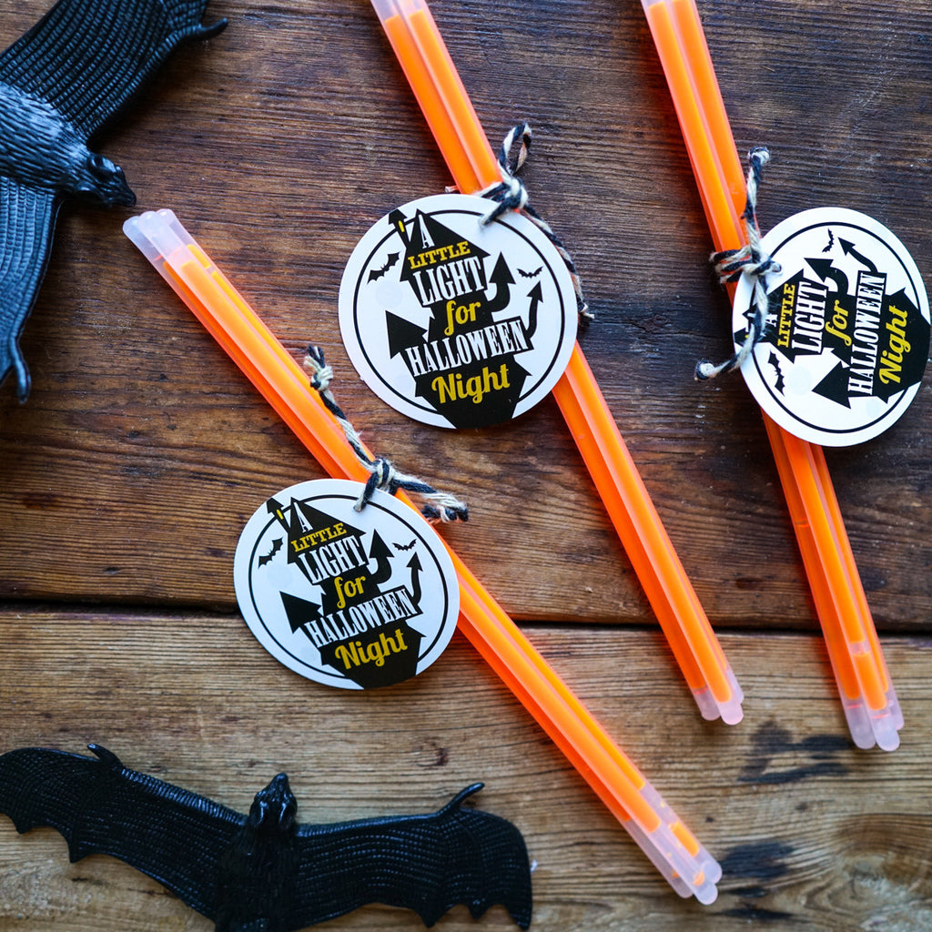 Halloween Haunted House Party Favors | Halloween Favor Tags