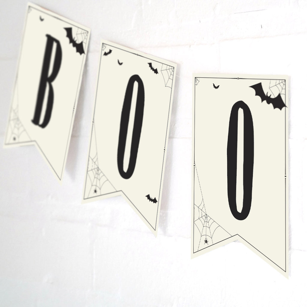 Halloween Haunted House Party Banner | Halloween Happy Birthday Banner
