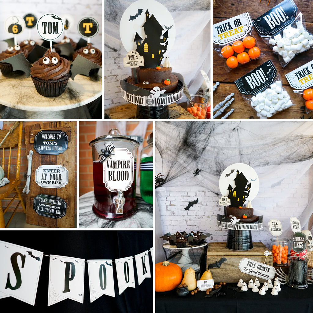 Halloween Home Decor Ideas: Haunted House Party Decorations Set