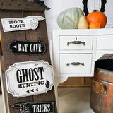 Halloween Haunted House Party Signs