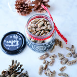 Christmas Gift Candied Pecans Recipe and Labels