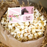 Horse Party Food Tent Cards