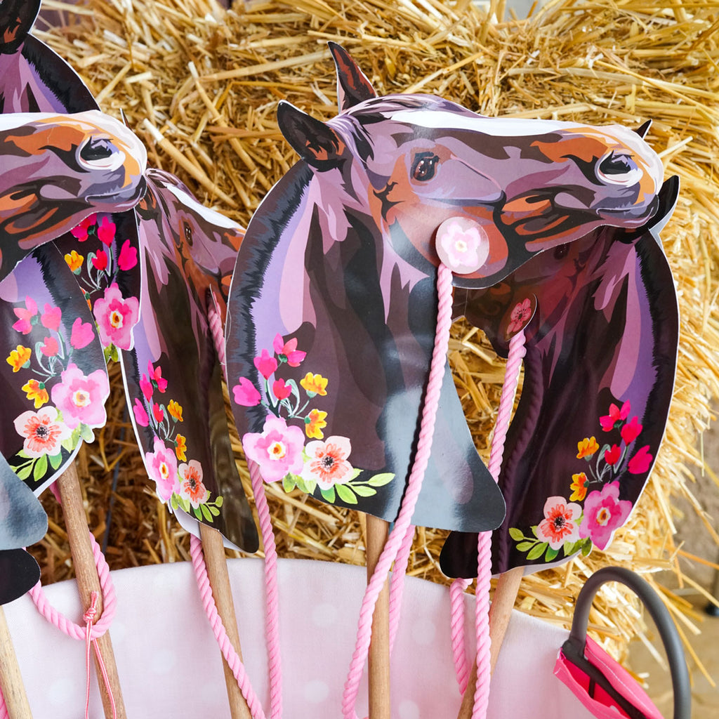 Hobby Horse Birthday Party Favor Pony Party Favor Sunshine Parties