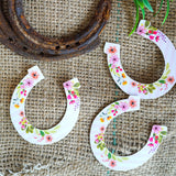 Horse Party Horseshoe Cutouts