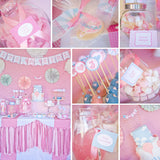 Hot Air Balloon Baby Shower Decorations For A Girl