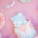Hot Air Balloon Birthday Party Cake Bunting