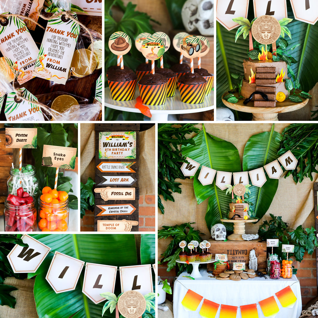 Indiana Jones Party Decor