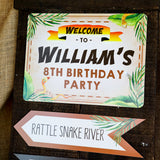 Adventure Party Birthday Decor | Indiana Jones Explorer Party Decor
