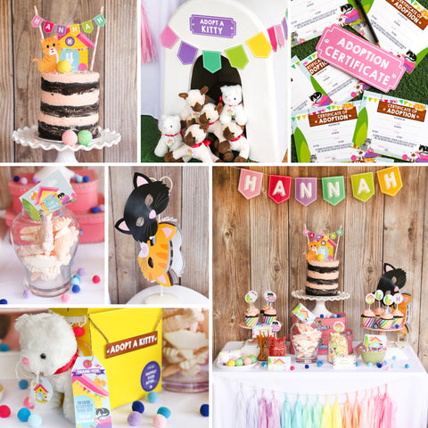 Kitty Cat Party Decor