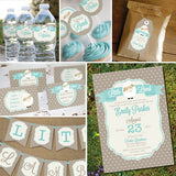 Little Lamb Baby Shower Decorations