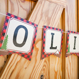 Little Lumberjack Party Decorations Set | Wilderness Forest Party