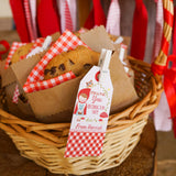 Little Red Riding Hood Party Favor Tags