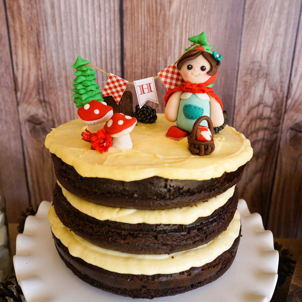 Little Red Riding Hood Party Mini Cake Bunting