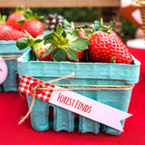 Little Red Riding Hood Party Food Labels | Tags