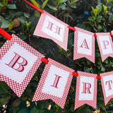 Little Red Riding Hood Party Birthday Banner