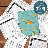 Kids Multiplication Activity Sheets
