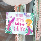 Watercolor Mermaid Party in Pink