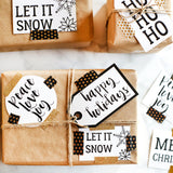 Modern Christmas Tags | Set of 14 Festive Christmas Labels and Tags