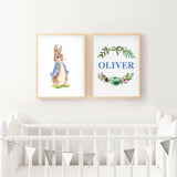 Peter Rabbit Party Stats Poster