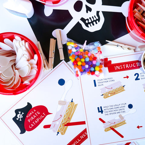 Pirate Party Catapult Game
