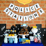 Police Party Desert Table