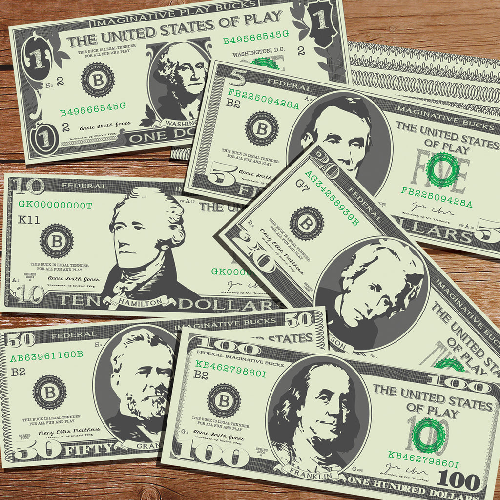 Printable Pretend Play Money