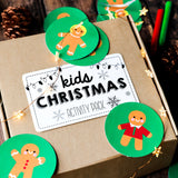 Kids Christmas Activity Booklet and Memory Game | Christmas Fun