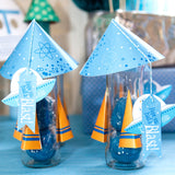Retro Rockets and Robots Party Favors
