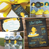 Unisex Rubber Duck Baby Shower Decorations