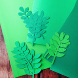 Spring Wreath Cut Outs SVG