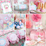 Shabby Chic Princess Baby Shower Decorations for a Girl