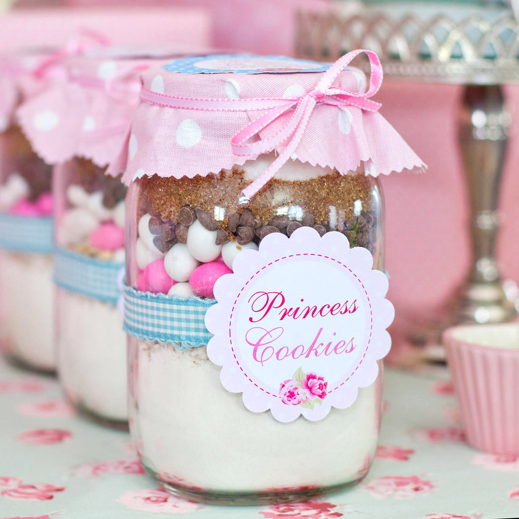 Shabby Chic Princess Party Favors | Princess Cookies