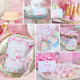 Shabby Chic Princess Party Decorations