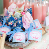 Shabby Chic Princess Baby Shower Favor Tags