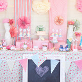Shabby Chic Princess Baby Shower Dessert Table