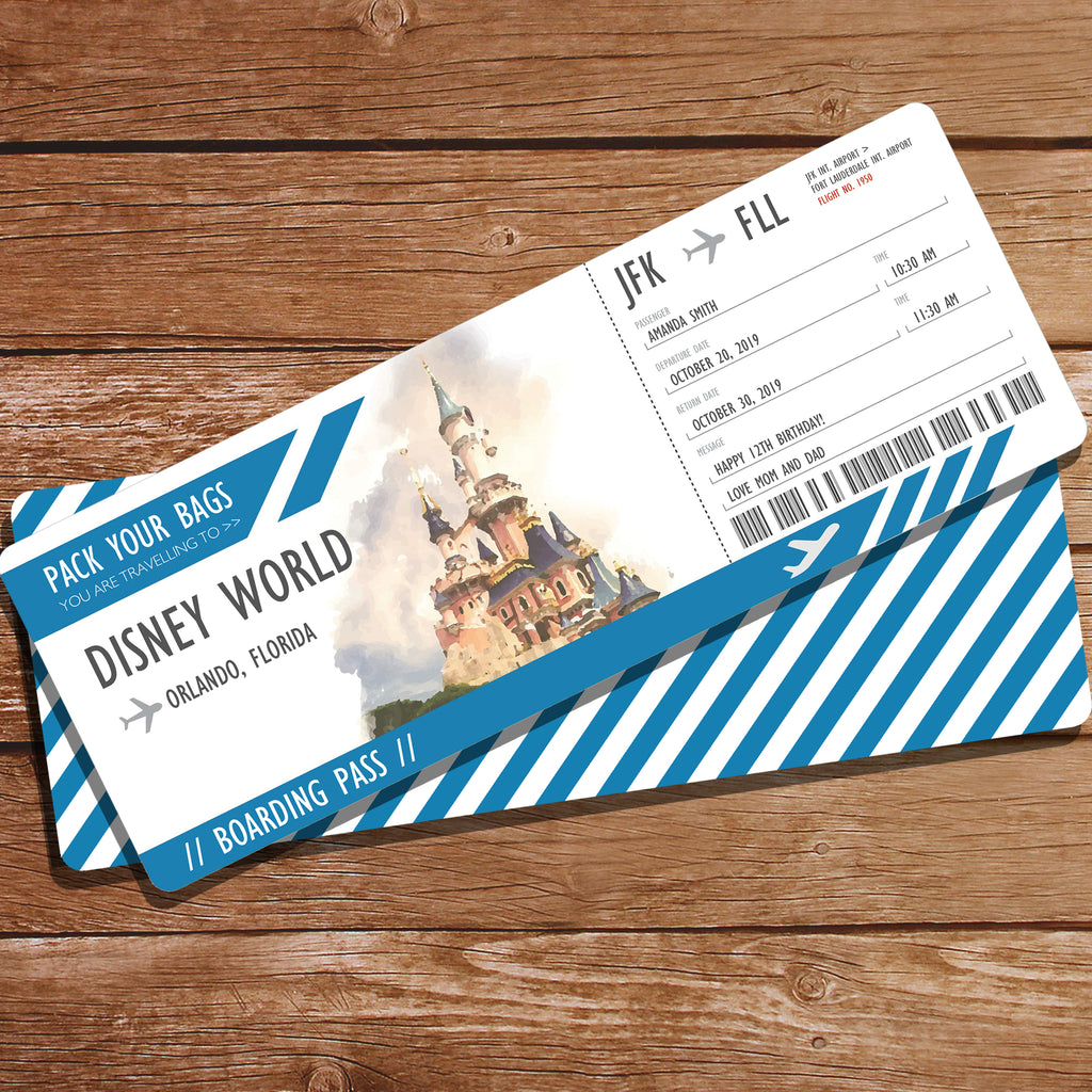 Disney World Surprise Gift Ticket