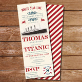 Titanic Party Invitation