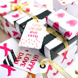 Super Value Valentine's Bundle - Includes Cards, Tags, Gift Wrap, Toppers, Love Cookie Labels, Unicorn Card and Cupcake Box
